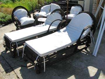 Muebles para jardin o exterior
