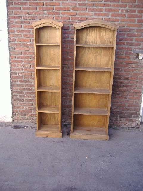 Bibliotecas estilo campo varios tamaños y modelos