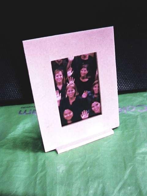 Portaretrato con base souvenir fotos-tarjetas bodas 15 bebes