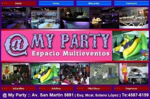 Salon para fiestas villa del parque av. san martin 5891