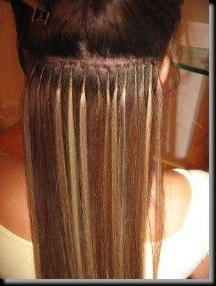 Extensiones pelo natural castaño con colocacion incluida