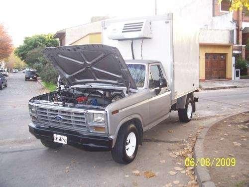 Fotos de Vendo f100 con furgon y equipo de frio 01161563408 4