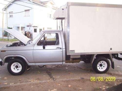 Vendo f100 con furgon y equipo de frio 01161563408