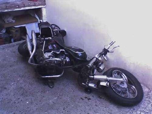 Compro motos chocadas desarmadas sin fuccionar