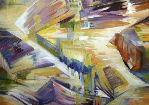 Venta de cuadros abstractos al oleo