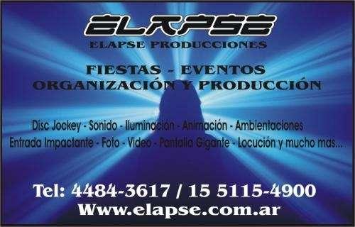 Disc jockey elapse producciones