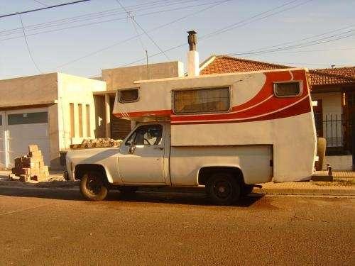 Vendo camper casilla motor home chevrolet diesel