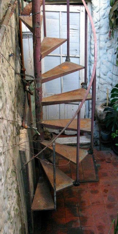 Famoso Escalera Caracol Usada Cresta - Ideas de Decoración de ...
