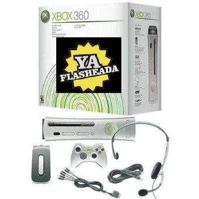 Xbox 360 desbloqueadas 20gb!
