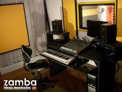 Fotos de Estudio zamba - grabación y producción musical 2