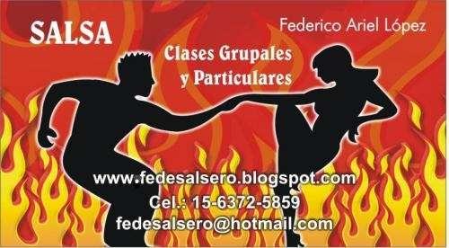 Profesor de salsa: clases particulares