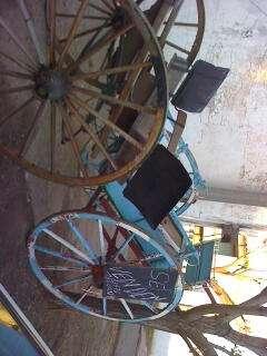 Sulky y carro lechero