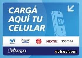Vendo carga virtual para celulares (personal-claro-movistar)