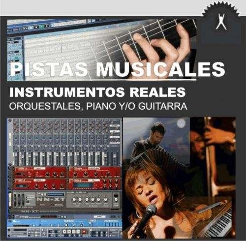 Pistas para cantantes instrumentos reales