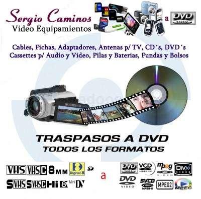 Transferencias de videos a dvd