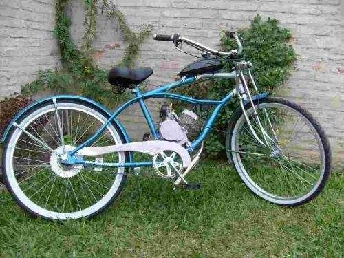 G r a t a r o l a motor para bicicleta bicimoto motobici 2 tiempos colocacion instalacion