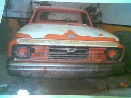 Vendo camioneta ford/67