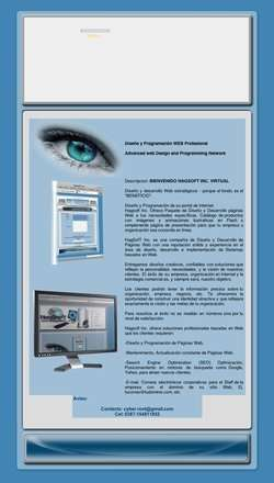 Hagsoftware, diseño de paginas web, diseño web profesional