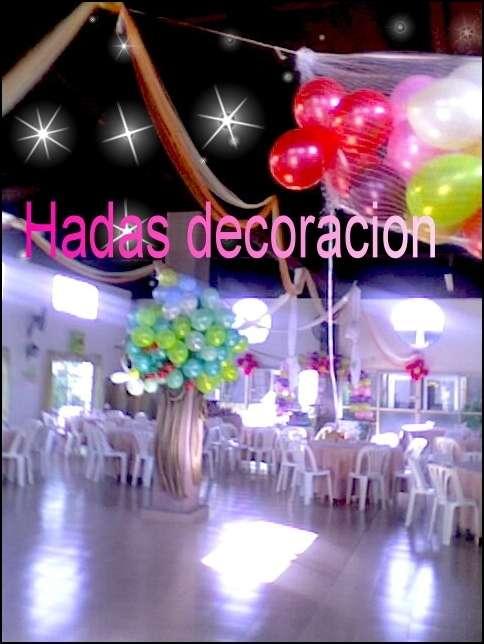 Fotos de Decoracion y entelados con globos y adornos46624473 2