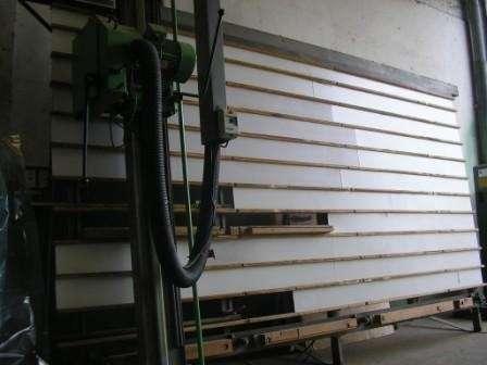 Panel vertical marca coro-maquina de carpinteria