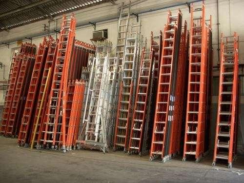 Escaleras de aluminio y prfv todos los modelos