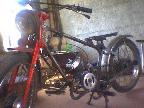 Vendo motocicleta puma 98 cc - 2da serie