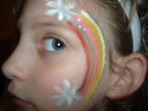 Maquillaje artistico para niños