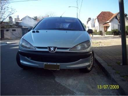 Impecable 206 5p diesel full 2002