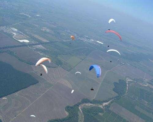 Fly parapente escuela de vuelo