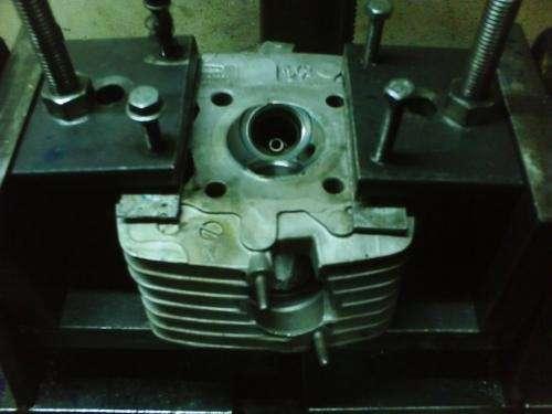 Rectificado de tapas y cilindros de motos.