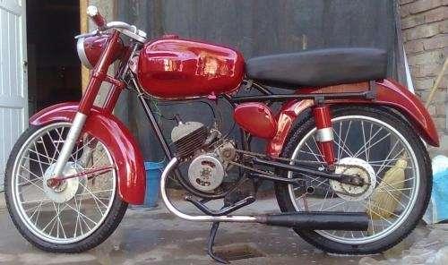 Moto ferrari bgh 98 modelo 63