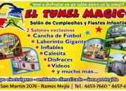 PELOTERO SALON FIESTAS INFANTILES RAMOS MEJIA LOMAS MIRADOR