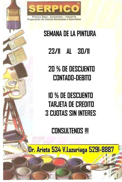 Pinturerias serpico - hogar- obra-industria-automotor-
