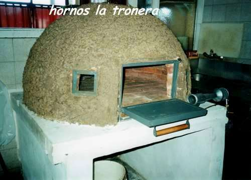 Horno de barro artesanal a gas o leña