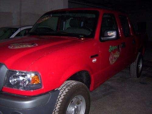 Vendo ford ranger roja 0 km