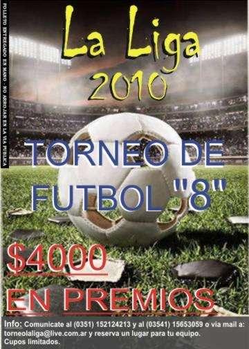 Torneo de futbol 8