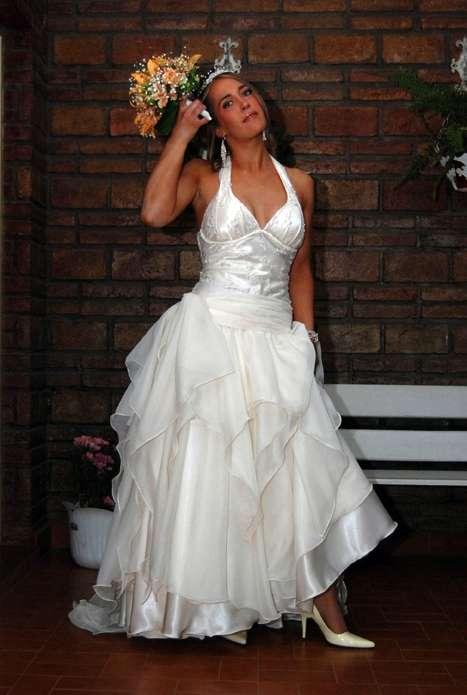 vendo delicado vestido de novia en córdoba - ropa y calzado | 328245.