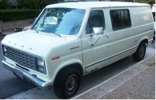Van ford econoline 150