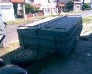Vendo trailer carpa o batan $45000.-para 4 personas listo para usar