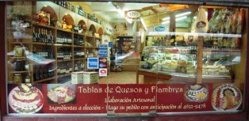 Excelente queseria, fiambreria, vinoteca & delicatessen