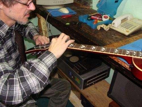 Reparacion de guitarras