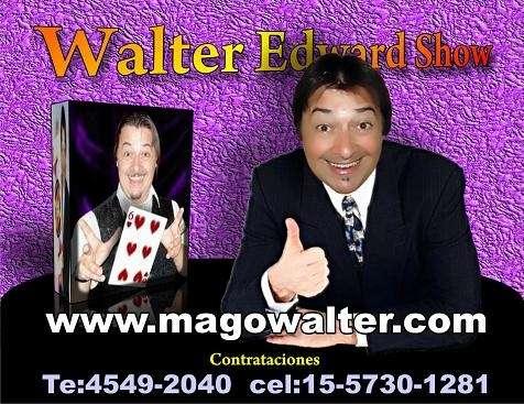 Cumpleaños fiestas show te:4641-4059 www.magowalter.com.ar