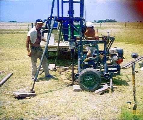 Venta de maquina de perforar pozos de agua