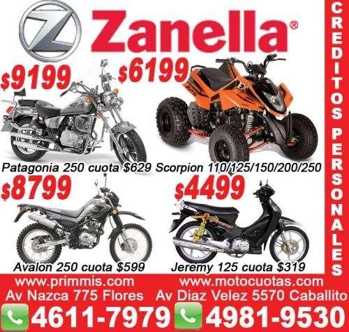 Motos zanella lanus patagonian eagle 250cc 0km lanus motos zanella $9199
