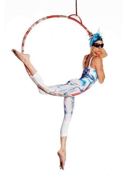 Circo taller de telas y trapecio en el circodromo !