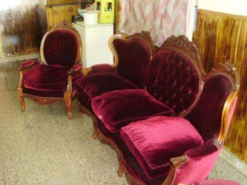 Vendo sillon 3 cuerpos luis xv