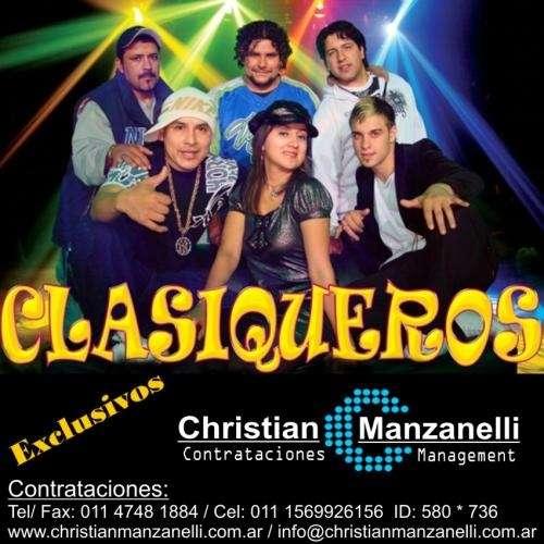 Contratar a clasiqueros manager exclusivo christian manzanelli