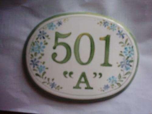 Carteles de cerámica- placas de cerámica a pedido.