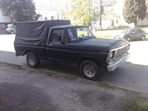 Ford f100 80 diesel 93 pallier flotante