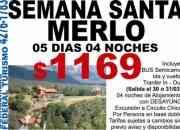 FEDERAL TURISMO Pasajes Aereos / Merlo - San Luis / Semana Santa 2010